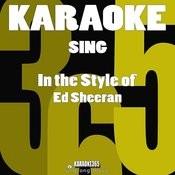Sing (In The Style Of Ed Sheeran) [Karaoke Version] - Single Songs