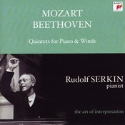 Mozart: Quintet In E-flat Major For Piano & Winds, K. 452; Beethoven: Quintet In E-flat Major For Piano & Winds, Op. 16 [Rudolf Serkin - The Art Of Interpretrat Songs