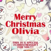 Merry Christmas Olivia - A Special #christmasgift For You Songs
