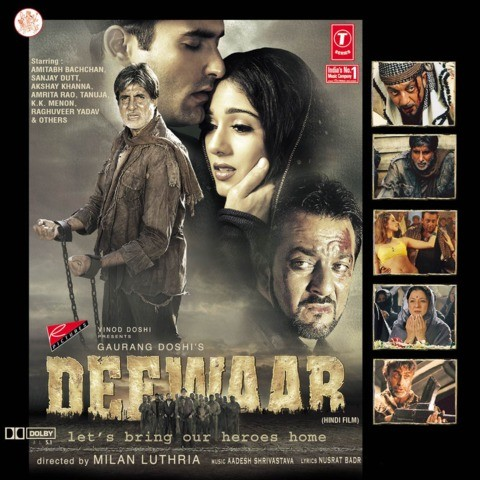 Printable over the hill poster deewar hindi movie mp3 song.