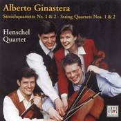 Ginastera: String Quartets Nos. 1 & 2 Songs