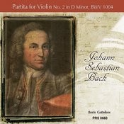 Partita For Violin No. 2 In D Minor, Bwv 1004: IV. Giga Song