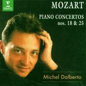 Mozart : Piano Concertos Nos 18 & 25 Songs