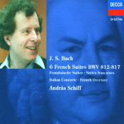 Bach J S French Suites Nos 1 6 Italian Concerto Etc Songs