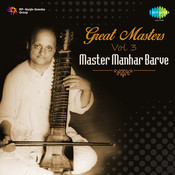 Great Masters Vol Iii Master Manhar Barve Songs