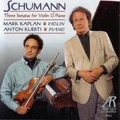 Three Sonatas For Violin & Piano Songs
