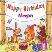 Happy Birthday Megan Songs