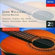 John Williams Guitar Recital Songs