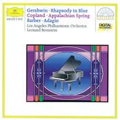 Gershwin: Rhapsody in Blue / Copland: Appalachian Spring / Barber: Adagio for Strings Songs
