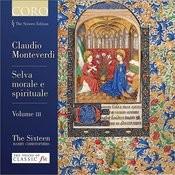 Monteverdi: Selva Morale E Spirituale Volume III Songs