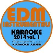Edm Instrumentals Karaoke 2014, Vol. 1 Songs