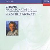 Chopin: Piano Sonatas Nos.1-3 Songs