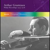 Arthur Grumiaux - Philips Recordings 1955-1977 Songs