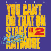 You Can't Do That On Stage Anymore, Vol. 2 - The Helsinki Concert Songs