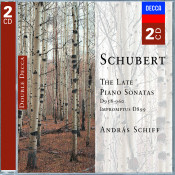 Schubert The Late Piano Sonatas Songs