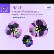 Bach 6 Partitas Goldberg Variations French Overture Italian Concerto Songs