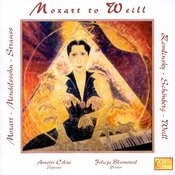 Mozart To Weill Songs