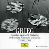 Grieg: Complete Music with Orchestra Songs