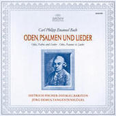 Bach, C.P.E.: Odes, Psalms & Lieder Songs