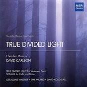 True Divided Light: Chamber Music Of David Carlson Songs