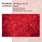 Holst: The Planets, Op. 32;  Walton: Facade Songs