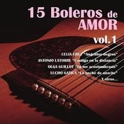 15 Boleros De Amor, Vol. 1 Songs