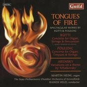 Tongue Of Fire - Rütti, Arensky, Poulenc Songs