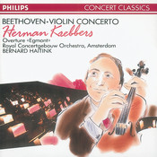 Beethoven: Violin Concerto/Egmont Overture Songs