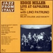 Jazz From Italy - Eddie Miller Live At Capolinea Vol.1 Songs