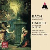Bach, JS : Magnificat & Handel : Te Deum, 'Utrecht' (NOT TO BE SENT TO ITUNES) Songs