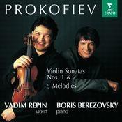 Prokofiev : Violin Sonatas 1, 2 & 5 Melodies Songs