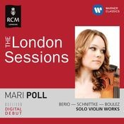 The Royal College of Music Sessions - Mari Poll plays Berio, Boulez & Schnittke Songs