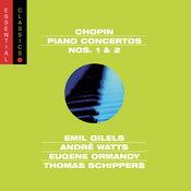 Chopin:  Piano Concertos  Nos. 1 & 2 Songs