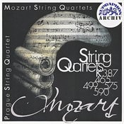 Mozart: String Quartets K. 387, 465, 499, 575, 590 Songs