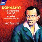 Dohnányi: String Quartets Nos. 2 and 3 / Kodály: Intermezzo for String Trio Songs