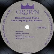 Barrel House Piano Songs