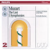 Mozart: The Last 5 Symphonies (2 CDs) Songs