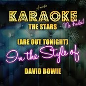 The Stars (Are Out Tonight) [In The Style Of David Bowie] - Single Songs