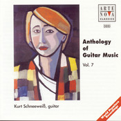 Anthology Of Guitar Music Vol. 7 Songs