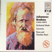 Brahms: Concertos - Piano Ctos. 1+2/Violin Concerto/Double Concerto (4-er Multip.) Songs