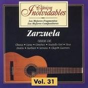 Clásicos Inolvidables Vol. 31, Zarzuela Songs
