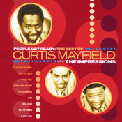 The Best Of The Impressions Featuring Curtis Mayfield Songs