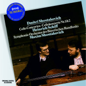 Shostakovich Cello Concertos Nos 1 Songs