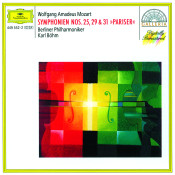 Mozart Symphonies Nos 25 29 Songs