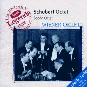 Schubert Octet In F Spohr Octet In E Songs