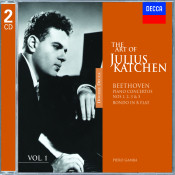 The Art Of Julius Katchen Vol 1 Songs