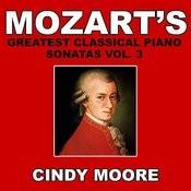 Mozart's Greatest Classical Piano Sonatas Vol. 3 Songs