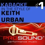 It's A Love Thing (Karaoke Instrumental Track)[In The Style Of Keith Urban] Song