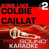 Sing Like Colbie Caillat, Vol. 2 Songs
