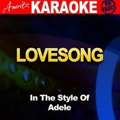 Lovesong (In The Style Of Adele) Songs